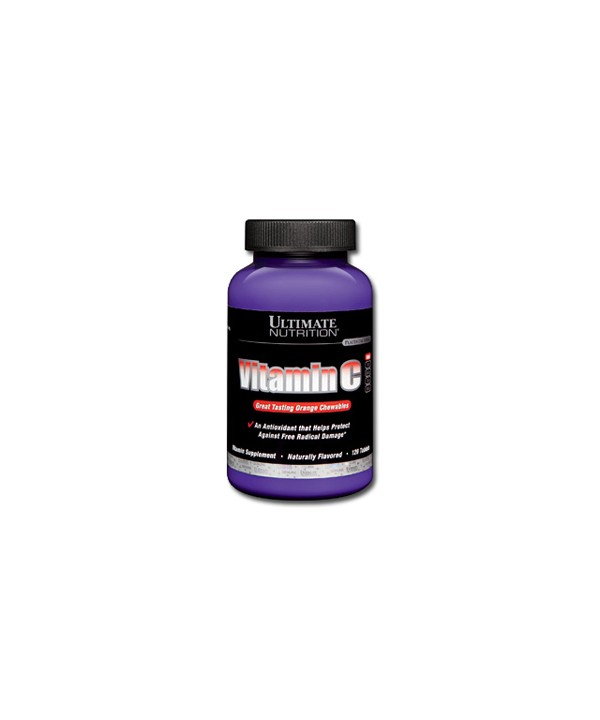 ULTIMATE NUTRITION VITAMIN C 120 CAPSULE MASTICABILI