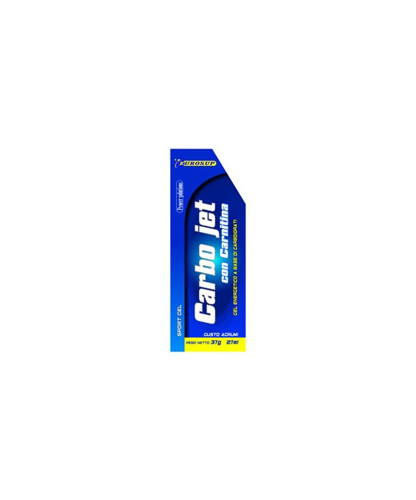 CARBO JET SPORT GEL CON CARNITINA 30X37g
