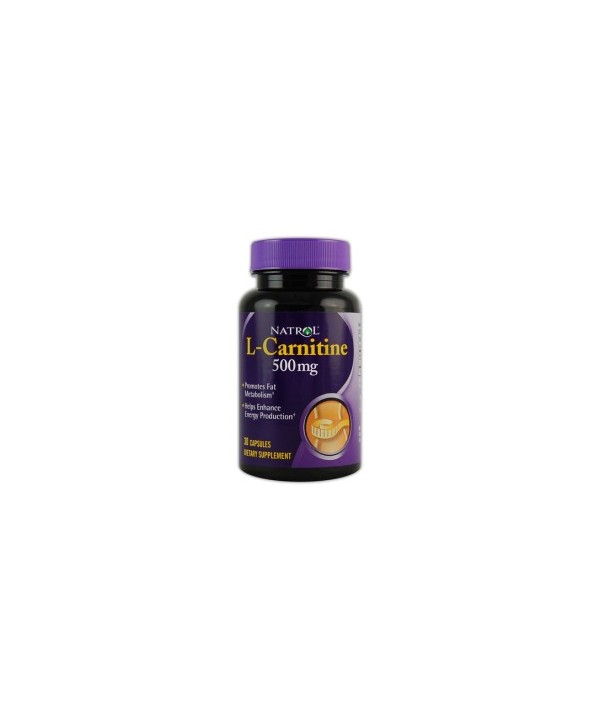L-CARNITINE 500mg 30cps