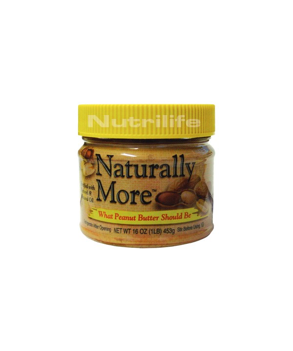 POWER BUTTER NATURALLY MORE