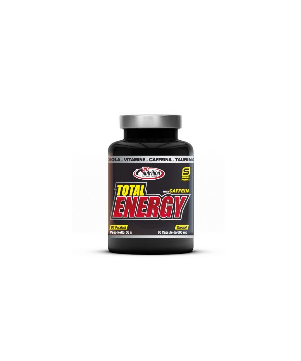 PRONUTRITION TOTAL ENERGY 60 CAPSULE