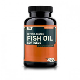 OPTIMUM NUTRITION ENTERIC COATED FISH OIL 100 SOFTGEL