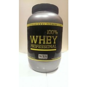 100% WHEY PROFESSIONAL WBS 4000g PROTEINE ISOLATE