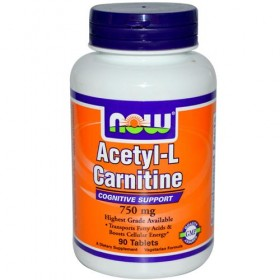 ACETYL L-CARNITINE 750mg 90cps