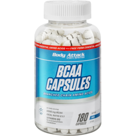 BODY ATTACK BCAA 180 CAPSULE