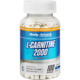 BODY ATTACK L-CARNITINE 1500 100 CAPSULE