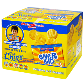 Ener Kid Chips gusto Classico scatola 5x23g