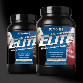 ALL-NATURAL ELITE WHEY PROTEIN - 4536g