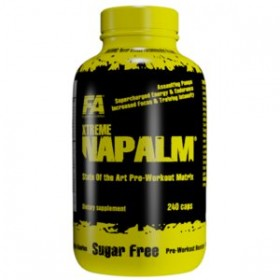 FA NUTRITION XTREME NAPALM LOADED BY VITARGO 500g LIMONE