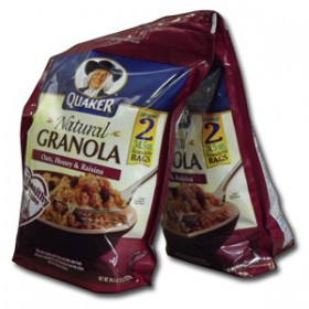 QUAKERS GRANOLA 2X978g