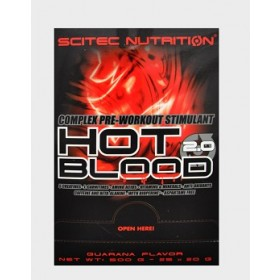 HOT BLOOD 2.0 - 25 buste da 20g