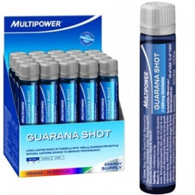 MULTIPOWER GUARANA 20 fiale da 25 ml