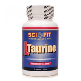 L TAURINE 60 CPS SCIFIT