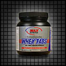 MAX NUTRITION WHEY TABS