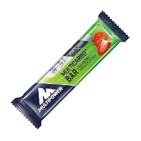MULTIPOWER MULTICARBO ENERGY+ FRUIT BAR 24 BARRETTE 50 G