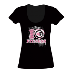 T-SHIRT DONNA PINK FIT
