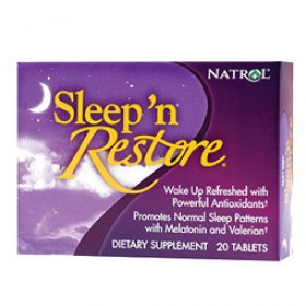 NATROL SLEEP'N RESTORE 20 COMPRESSE