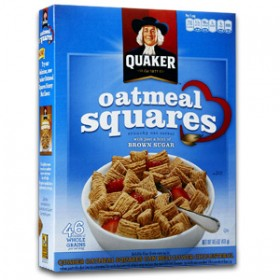 QUAKERS OATMEAL SQUARES BROWN SUGAR 1640g