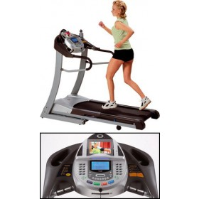 Horizon Fitness Ti Entertainment con TV+DVD