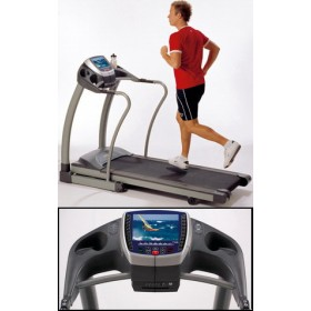 Horizon Fitness Elite Entertainment con TV+DVD